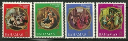 "Bahamas   ""Christmas 1969""      Set     SC# 294-97  MNH** - Bahamas (1973-...)"