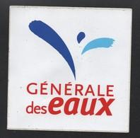 GENERALE DES EAUX / AUTOCOLLANT REF: 007 - Stickers