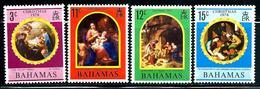 "Bahamas      ""Christmas 1970""   Set  SC# 309-12 Mint - Bahamas (1973-...)"