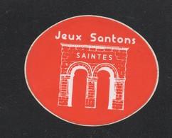 JEUX SANTONS SAINTES  / AUTOCOLLANT REF: 008 - Stickers