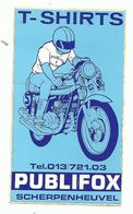 Sticker - T SHIRTS - PUBLIFOX - Scherpenheuvel - Motor - Stickers