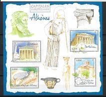 France 2004 Bloc Feuillet N° 78 Neuf Athènes à La Faciale - Blocs & Feuillets