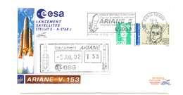 FRANCIA - AGENZIA SPAZIALE EUROPEA ESA - LANCIO SATELLITE STELLAT 5 - ANNO 2002 - ARIANE - Francia