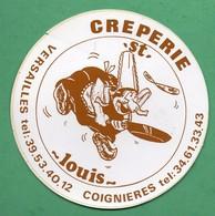 CREPERIE ST LOUIS VERSAILLES COIGNIERES  / AUTOCOLLANT REF: 009 - Stickers