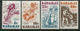 "Bahamas   ""Olympic Games 1976""   Set    SC# 388-91  MNH** - Bahamas (1973-...)"