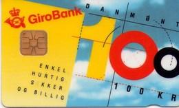 TARJETA TELEFONICA DE DINAMARCA. DD058B, Girobank & Post Danmark - TIRADA 3000 (003) - Denmark