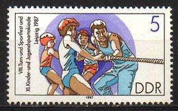 RDA. N°2726 De 1987. Tir à La Corde. - Stamps