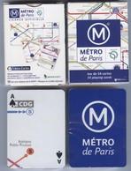Jeu De 55 Cartes à Jouer METRO De PARIS RATP - PUZZLE GRIMAUD Neuf - Playing Cards (classic)