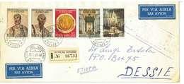 VATICANO - LETTERA PER DESSIE  ETHIOPIA - ANNO 1967 - Vatican