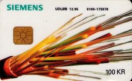TARJETA TELEFONICA DE DINAMARCA. DD066, SIEMENS - TIRADA 21499 (121) - Dinamarca
