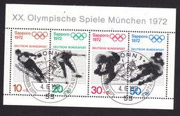Germany, Scott #B475a, Used, Olympics, Issued 1971 - [7] Federal Republic