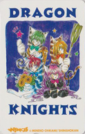 Télécarte Japon / 110-016 - MANGA - DRAGON KNIGHTS ** ONE PUNCH ** - ANIME COMICS Japan Phonecard - 10380 - Stripverhalen