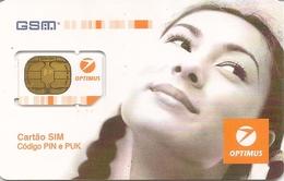 Mobile Phonecard Optimus GSM (Gemplus) - Portugal (NOT USED) - Portugal