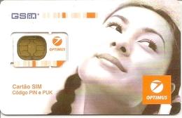 Mobile Phonecard Optimus GSM (Gemplus) - Portugal - Portugal