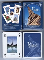 Jeu De 55 Cartes à Jouer Grimaud PARIS La Capitale - Joker METRO NEUF - Kartenspiele (traditionell)