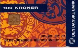 TARJETA TELEFONICA DE DINAMARCA. DD154J, COINS MASTERCARD (TIRADA 2500). (006) - Dinamarca