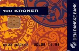 TARJETA TELEFONICA DE DINAMARCA. DD154G, COINS MASTERCARD (TIRADA 9505). (008) - Dinamarca