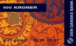 TARJETA TELEFONICA DE DINAMARCA. DD157C, Den Danske Bank - Lan Uden Besvaer (TIRADA 8550). (007) - Dinamarca