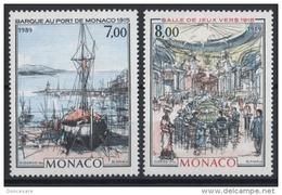 MONACO 1989 - SERIE N° 1696 ET 1697 - NEUFS ** - Mónaco