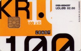 TARJETA TELEFONICA DE DINAMARCA. DD195, L'Easy (TIRADA 14942). (037) - Dinamarca
