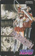 Télécarte Japon / 110-016 - MANGA - PANZERKLEIN By AKIRA KANDA - ANIME Japan Phonecard - 10388 - Comics