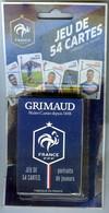 Jeu De 54 Cartes Officiel Equipe De France De FOOTBALL FFF Portraits Les Bleus MONDIAL 2018 - Playing Cards (classic)