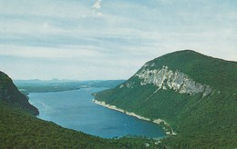 Aerial View Of Lake Willoughby, Vermont - United States