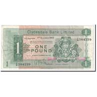 Billet, Scotland, 1 Pound, 1968, 1968-10-01, KM:202, TB - [ 3] Scotland