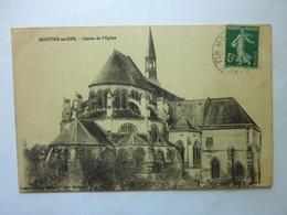 MONTIER En DER - Chevet De L'Eglise - Montier-en-Der