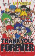 Télécarte Japon / 110-016 - MANGA - BAKUSO KYODAI - LET'S & GO ** THE RACING BROTHERS ** - ANIME Japan Phonecard - 10396 - Comics