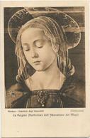 X3425 La Vergine - Ghirlandaio - Firenze - Ospedale Degli Innocenti - Dipinto Paint Peinture / Non Viaggiata - Malerei & Gemälde