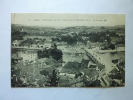 GRAY - Panorama Du Port Villeneuve Et Chaussée D'Arc - Gray