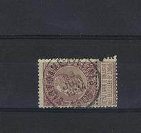 N°61 (ntz) GESTEMPELD Sart-Dame-Avelines 1905 COBA € 12,50 - 1893-1900 Schmaler Bart