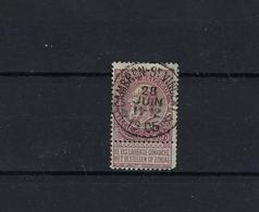 N°61 (ntz) GESTEMPELD *Cambron-St.Vincent* 1905 COBA € 10,00 - 1893-1900 Schmaler Bart