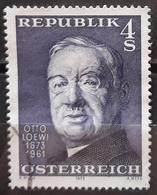 AUSTRIA 1973 The 100th Anniversary Of The Birth Of Otto Loewi. USADO - USED. - 1945-.... 2. Republik