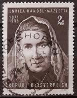 AUSTRIA 1971 The 100th Anniversary Of The Birth Of Enrica Handel-Mazzetti. USADO - USED. - 1945-.... 2. Republik