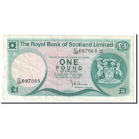Billet, Scotland, 1 Pound, 1981, 1981-05-01, KM:336a, TTB - [ 3] Scotland