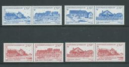 St Pierre & Miquelon 1991 Buildings Part Set Of 7 + 1 Duplicate As 4 Pairs MNH - Unused Stamps
