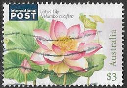 Australia 2017 Water Plants $3 Sheet Stamp Good/fine Used [37/31120/ND] - 2010-... Elizabeth II