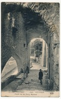 CPA - SISTERON (Basses Alpes) - Vieille Rue Du Bourg Reynaud - Sisteron