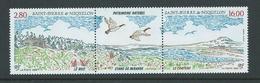 St Pierre & Miquelon 1994 Natural Heritage Strip Of 2 + Label MNH - St.Pierre & Miquelon