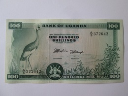 Uganda 100 Shillings/Shilingi 1966 Banknote - Uganda