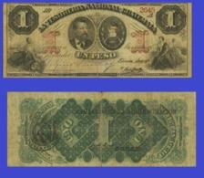 Guatemala 1 Pesos 1888   - REPLICA --  REPRODUCTION - Guatemala