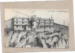 BELFORT - 90 -  LE LION S'IMPATIENTE - CPA Du 11/10/1914 - ROUIL** - - Belfort – Le Lion