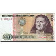 Billet, Pérou, 500 Intis, 1985-1991, 1987-06-26, KM:134b, TTB - Pérou
