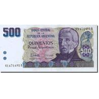 Billet, Argentine, 500 Pesos Argentinos, 1983-1985, Undated (1984), KM:316a - Argentine