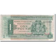 Billet, Scotland, 1 Pound, 1963, 1963-02-01, KM:195a, TB - Ecosse