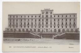 LE TOUQUET PARIS PLAGE - N° 160 - L' ATLANTIC HOTEL - CPA NON VOYAGEE - Le Touquet
