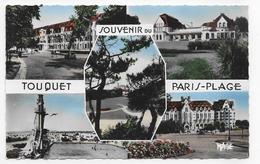 LE TOUQUET PARIS PLAGE - N° 1000 - MULTIVUES - FORMAT CPA NON VOYAGEE - Le Touquet