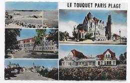 LE TOUQUET PARIS PLAGE - N° 1500 - MULTIVUES - FORMAT CPA NON VOYAGEE - Le Touquet